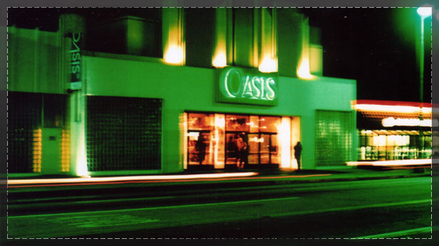 Oasis Theatre Night Header